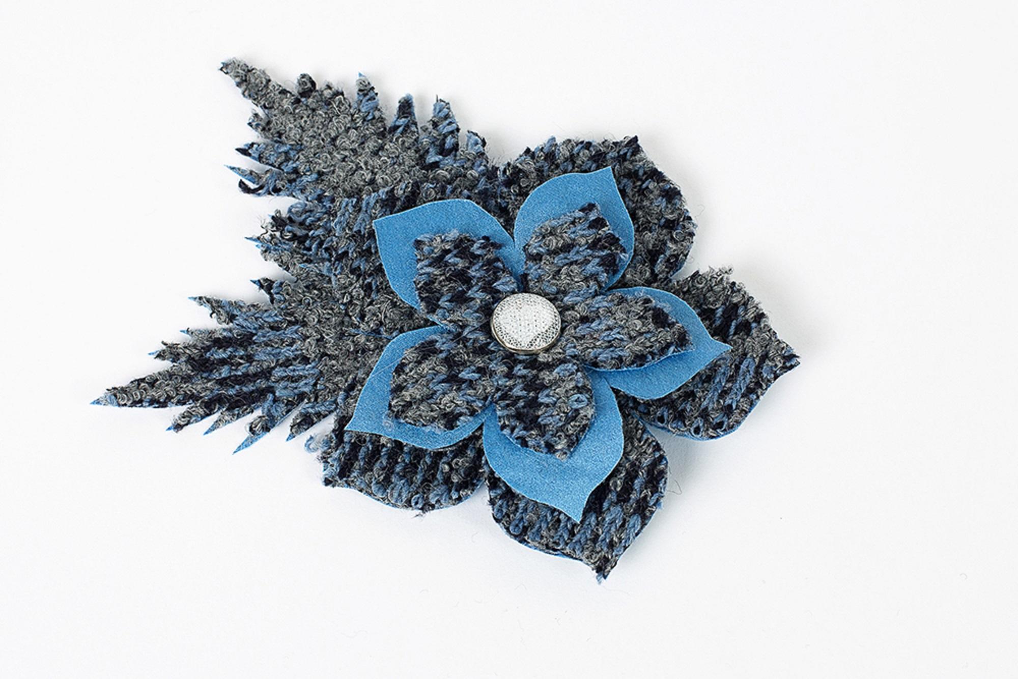 abbastanza Ricamificio La Perla accessori moda - 921648 Spilla fiore CY86